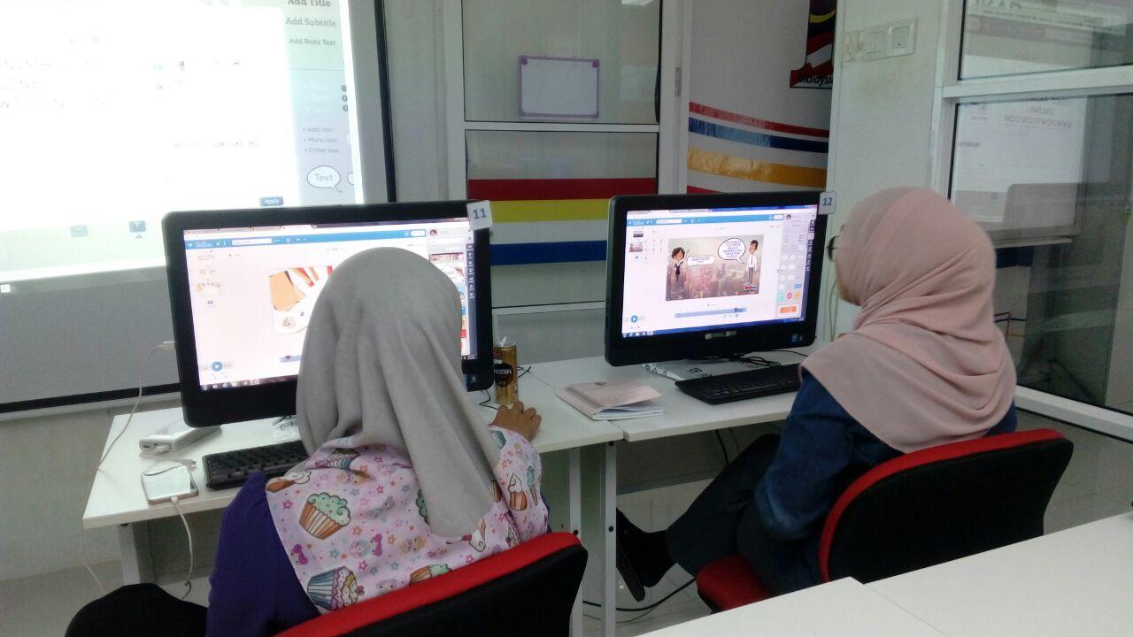 Latihan Video Animasi Online Aplikasi Pawtoon Pen Pengurus